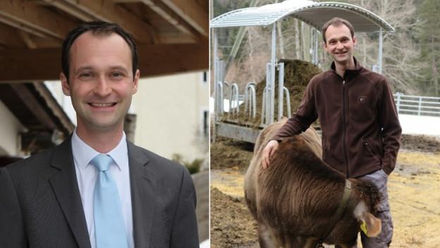 Reto Crameri ist Politiker, Jurist und Landwirt.