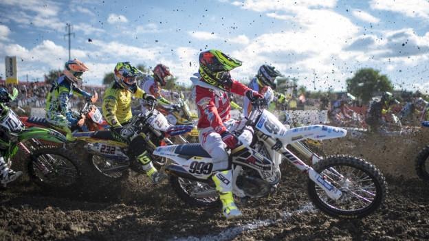 Das Motocross-Rennen in Frauenfeld ist das grösste in der Schweiz.