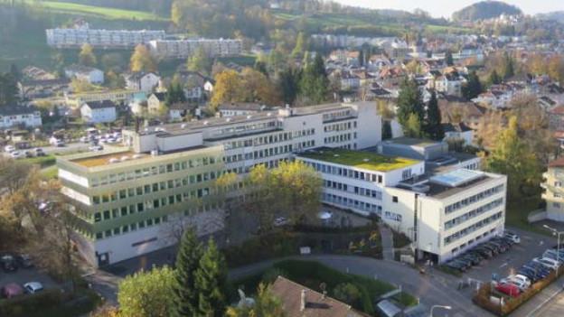 Kinderspital St. Gallen.