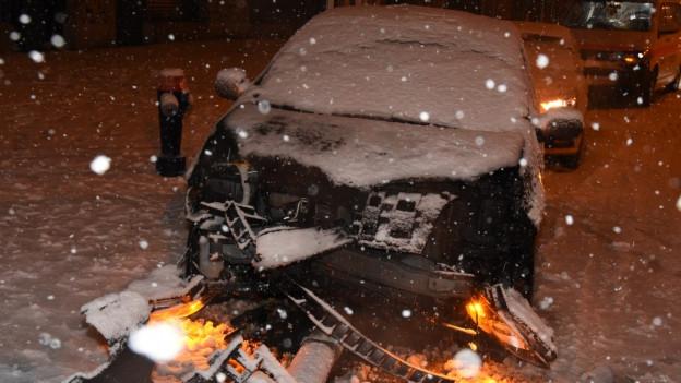 Unfälle wegen Schnee