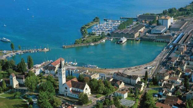 Die Grand Tour of Switzerland macht zum ersten Mal einen grenzübergreifenden Halt