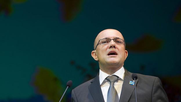 Nationalrat und Olma-Direktor: Beides geht nicht im Volljob.