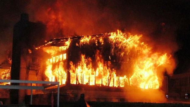 Brand in Matt trieb die Schadenssumme hoch