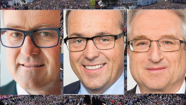 Drei Kandidaten für einen freien Regierungssitz in Innerrhoden