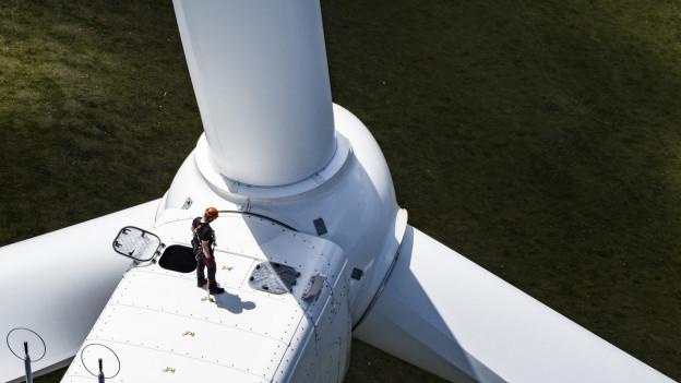 Turbine eines Windrades