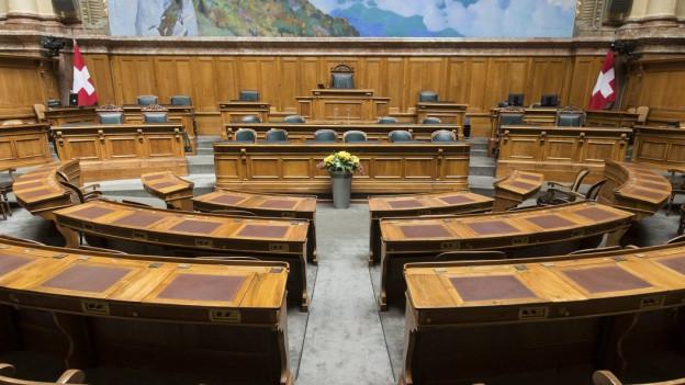 Ein Stuhl im Bundesrat wird frei.