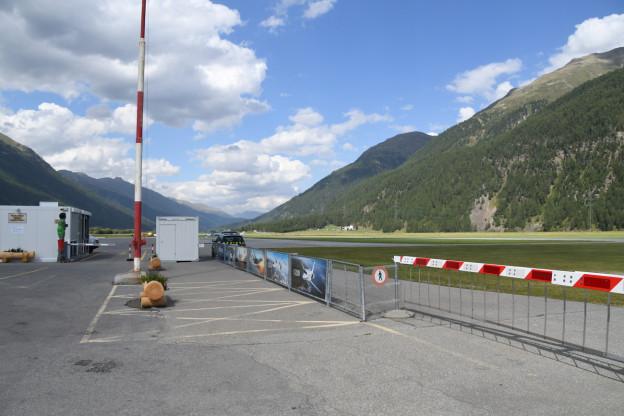 Flugplatz Samedan soll mit einem Zaun sicherer werden