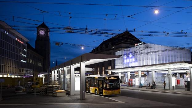 Der Hauptbahnhof St. Gallen bekommt bessere Verbindungen