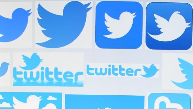 Icons von sozialen Medien
