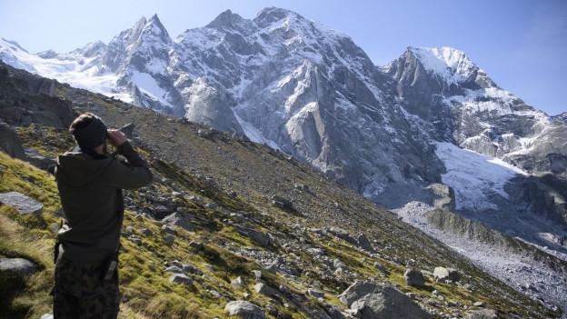 Bergsturz im Sommer 2017 in Bondo