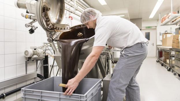 Schokoladenproduzent Läderach kann seinen Betrieb ausbauen