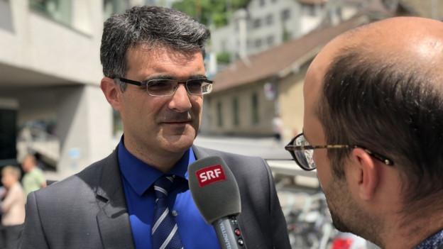 Marcus Caduff (CVP) in die Bündner Regierung gewählt.
