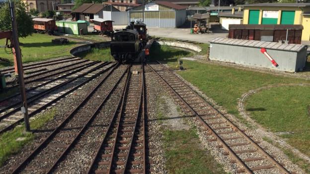 In der Eisenbahn-Erlebniswelt «Locorama» in Romanshorn kommen nicht nur Kinder, sondern auch das Kind im Manne zum Zug.