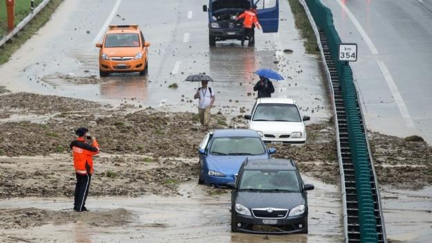 Hochwasserschutz Region Wil