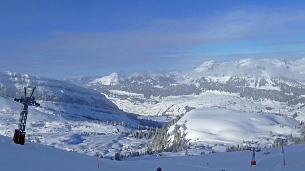 Skigebiet im oberen Toggenburg