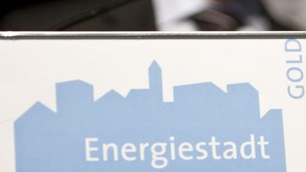 Energielabel Stadt St. Gallen
