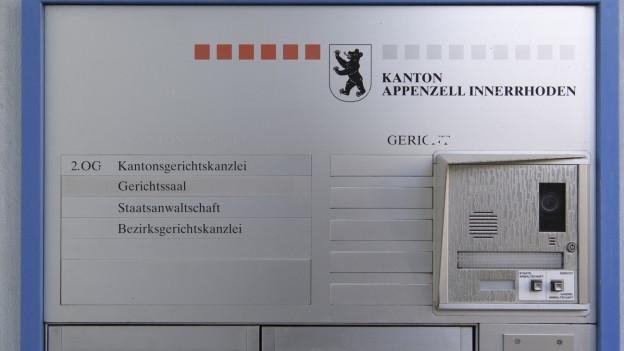 Der Kanton Appenzell Innerrhoden muss einen neuen leitenden Staatsanwalt suchen.