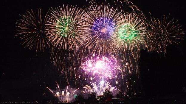 Höhepunkt am Seenachtsfest: das grosse Feuerwerk