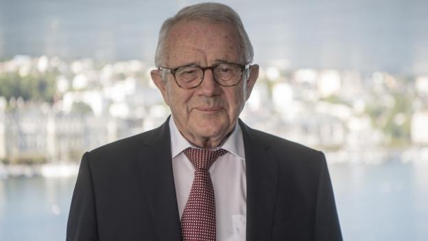 Alt Bundesrat Arnold Koller wird 85