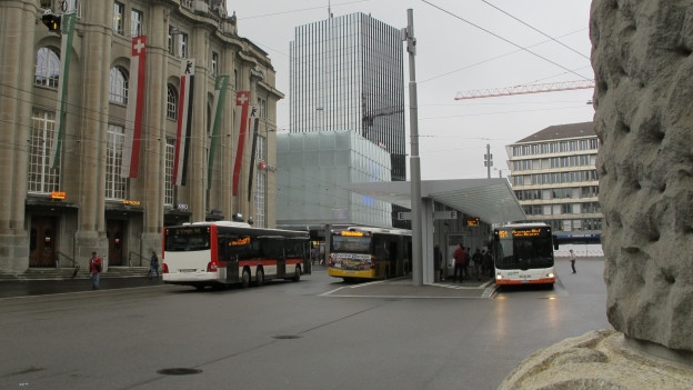 Bahnhofplatz St. Gallen