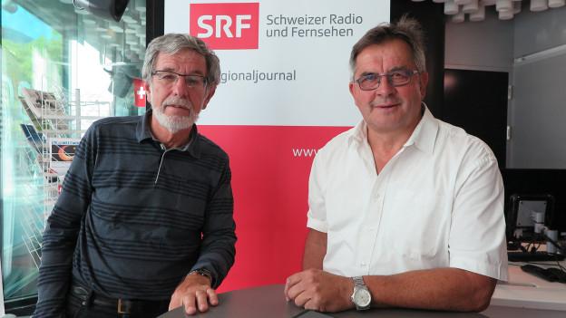 Johannes Flury und Jöri Luzi