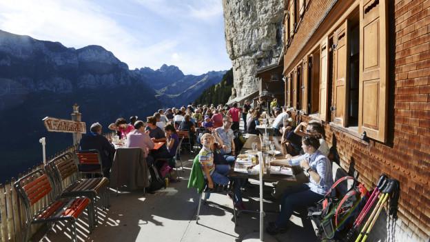 Das Berggasthaus Aescher muss erneuert werden