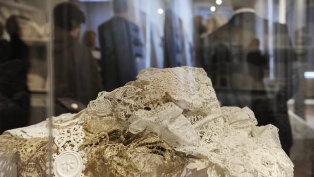 Die Textilindustrie in St. Gallen ist weiter unter Druck.
