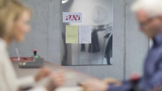 Arbeitsvermittlung beim RAV