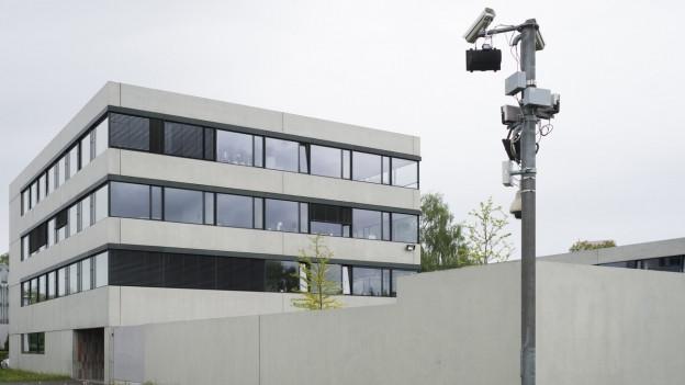 Bundesasylzentrum in Kreuzlingen von aussen.