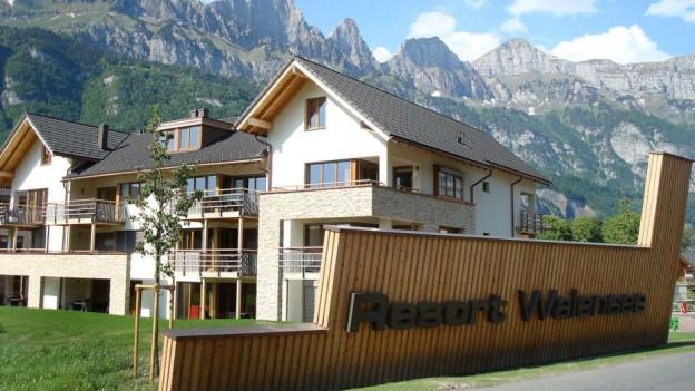 Häuser des Walenseeresorts