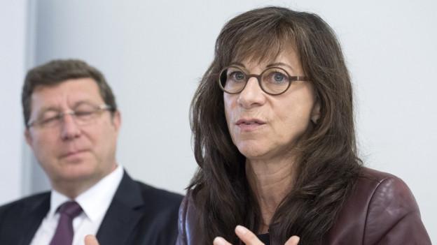 Regierungsrätin Heidi Hanselmann sitzt im Lenkungsausschuss.