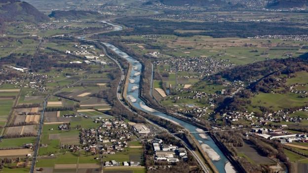 Im St. Galler Rheintal haben viele exportorientierte Firmen ihren Sitz.
