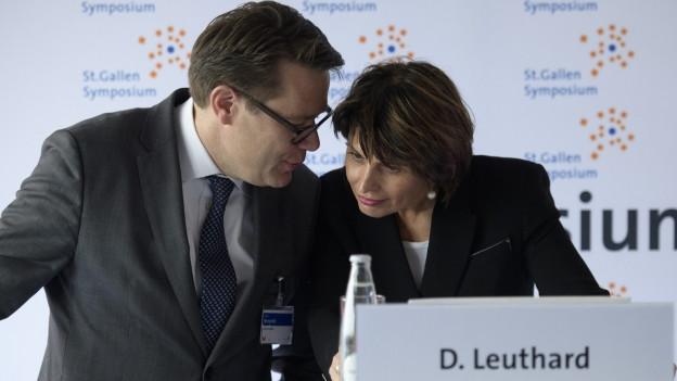 Steht Würth in den Startlöchern für die Leuthard-Nachfolge?