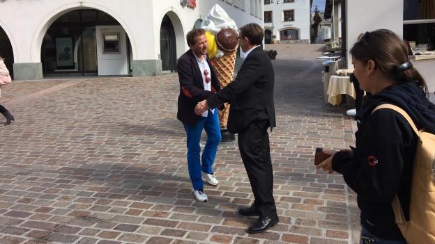 Christian Jenny ist neuer Gemeindepräsident von St. Moritz.