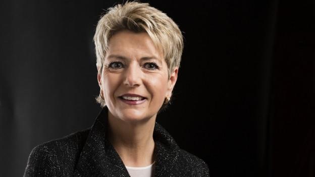 Sie werde alles tun, um bei ihrer zweiten Kandidatur gewählt zu werden, sagt die St.Galler Ständeratspräsidentin.