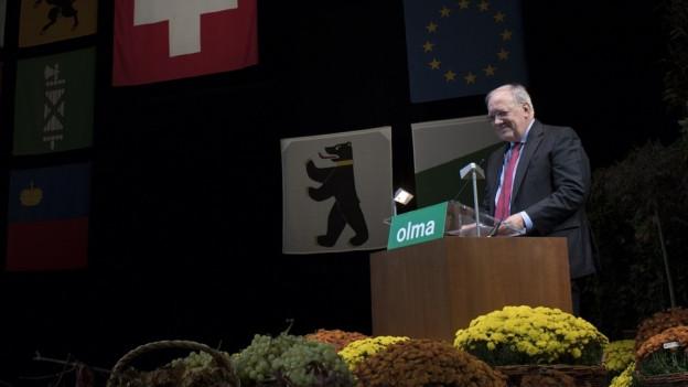 Olma 2018 durch BR Schneider-Ammann eröffnet.