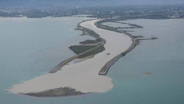 Eine neue Insel im Bodensee