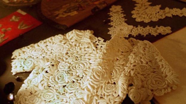 Textilmuseum St.Gallen zeigt Spitzen aus aller Welt aus.
