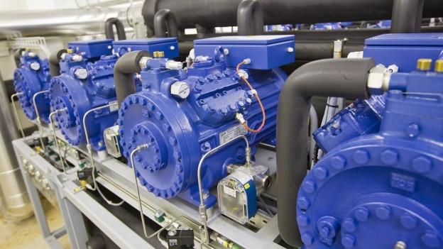 Blaue Generatoren zur Verarbeitung von Wärmeenergie