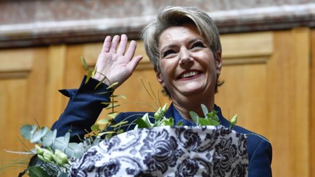 Karin Keller-Sutter ist die erste St. Gallerin in der Landesregierung seit Kurt Furgler.