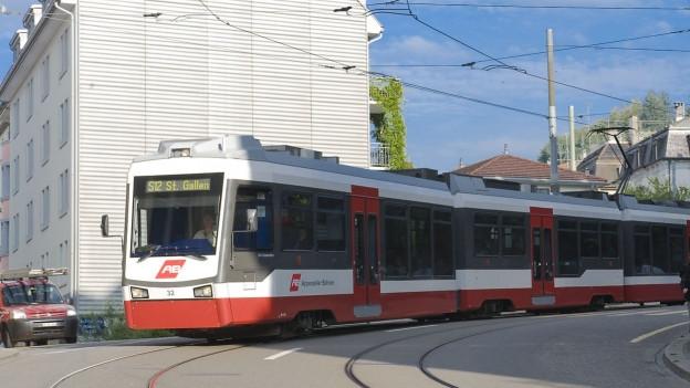 Zug der Appenzellerbahnen