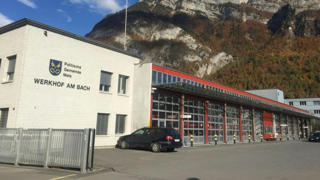 Der Werkhof Mels, Verhandlungsort im Fall Bad Rans