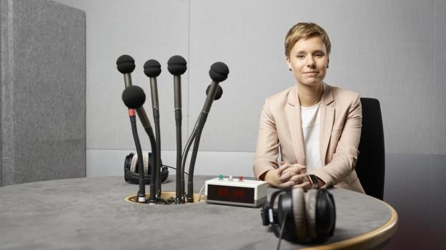 Ladina Heimgartner hat eine steile Karriere gemacht.