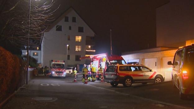 Wohnungsbrand in Romanshorn.