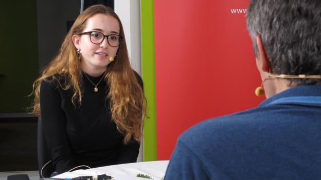 Adriana Hoerler im Gespräch