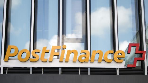 Logo der Postfinance