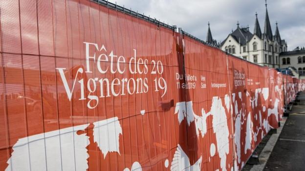 Am Winzerfest in Vevey werden 400'00 Besucher erwartet.