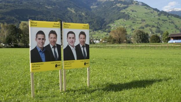 Bewilligungshürden für Wahlplakate