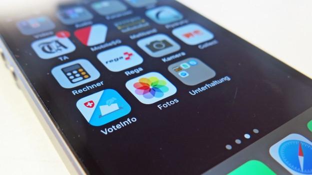 Die App Voteinfo