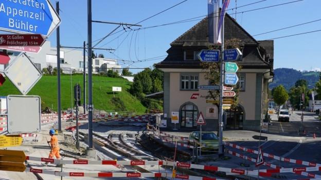 Bahnhof Teufen
